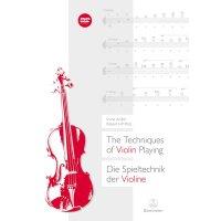 Die Spieltechnik der Violine