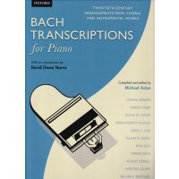 Bach-Transcriptions for Piano