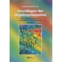 Michel-Ostertun, Christiane - Grundlagen der Orgelimprovisation (2 Hefte)