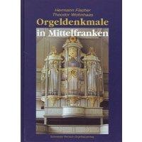 Orgeldenkmale Mittelfranken