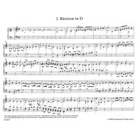Steigleder, Johann Ulrich - Ricercar Tabulatura Band 1