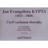 Kypta, Jan Evangelista -  Vier Orgelbücher