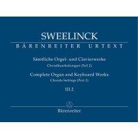 Sweelinck, Jan Pieterszoon - Orgel- und Clavierwerke Band III.2