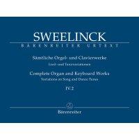 Sweelinck, J. P. - Orgel- und Klavierwerke Band IV.2