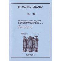 Choralbearbeitungen um J.S. Bach