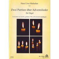 Hielscher, Hans Uwe - Zwei Partiten über Adventslieder