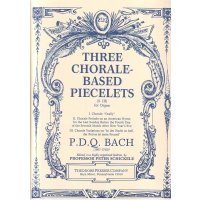 Bach, P.D.Q - Three Chorale-Based Piecelets