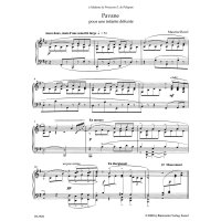 Ravel, Maurice - Pavane pour une infante défunte...