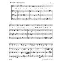 Bach, J.S. Zwölf Advents- und Weihnachtschoräle