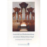 Festschrift zur Wiedereinweihung der Hesse-Orgel Holzhausen
