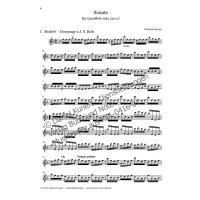 Kropp, Christian - Sonate für Flöte solo