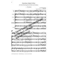 Telemann, G. P. - Ouverture (Suite) D-Dur