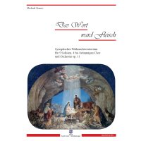 Stenov, Michael - Das Wort ward Fleisch - Partitur A3