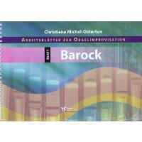 Arbeitsblätter zur Orgelimprovisation - Band 1 Barock