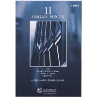 Emmelkamp, Bernard - 11 Organ Pieces