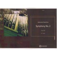Haarklou, Johannes - Symphony No. 2 op. 60 for Organ
