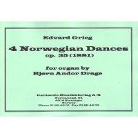 Grieg, Edvard - 4 Norwegian Dances op. 35