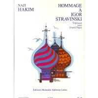 Hakim, Naji - Hommage à Igor Stravinski