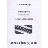 Graap, Lothar - Variationen zu Schlagarien