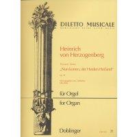 """Herzogenberg, Heinrich von - Phantasie """"Nun komm, der Heiden Heiland"""" op. 39"""
