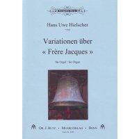 """Hielscher, Hans Uwe -Variationen über """"Frère Jacques"""""""