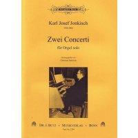 Jonkisch, Karl Josef - Zwei Concerti für Orgel solo