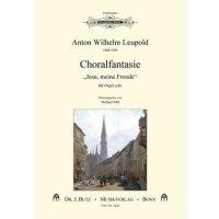 """Leupold, Anton Wilhelm - Choralfantasie """"Jesu, meine Freude"""""""