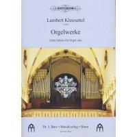 Kleesattel, Lambert - Orgelwerke