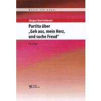 """Borstelmann, Jürgen - Partita über """"Geh aus, mein Herz, und suche Freud"""""""