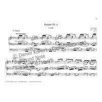 Sattler, Carl - Sonate No. 2 op. 17