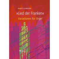 """Schneider, Enjott - """"Lied der Franken"""" - Variationen für Orgel"""