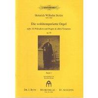 Stolze, H.W. - Die wohltemperierte Orgel - Band 2