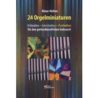 Velten, Klaus - 24 Orgelminiaturen