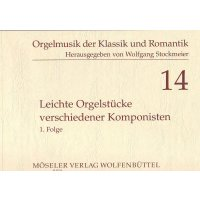 Leichte Orgelstücke verschiedener Komponisten 1