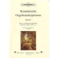 Romantische Orgeltranskriptionen - Band 2