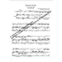 Bach, Johann Sebastian - Sonate D-Dur