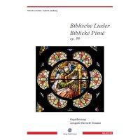 Dvorak, Antonìn - Biblische Lieder op. 99 für tiefe Stimme & Orgel