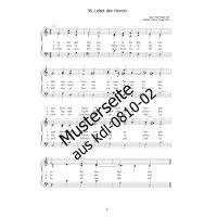 Müller, Peter - 3st. Chorsätze zum Paul-Gerhardt-Gesangbuch - Teil 3