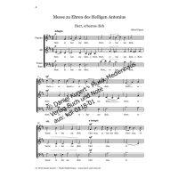 Figura, Alfred - Messe zu Ehren des Heiligen Antonius