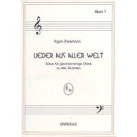 Ziesmann, Egon - Lieder aus aller Welt - Heft 1