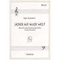 Ziesmann, Egon - Lieder aus aller Welt - Heft 2