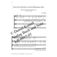 """Kluth, Reinhard - Hochzeitsmotette """"Wenn ich mit Menschen- und mit Engelszungen redete"""""""