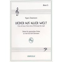 Ziesmann, Egon - Lieder aus aller Welt - Heft 5