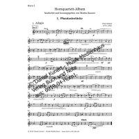 Hornquartett-Album - Set