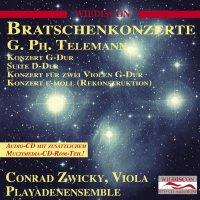 Bratschenkonzerte von Georg Philipp Telemann