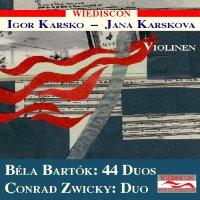 Bartók / Zwicky : Violin-Duos