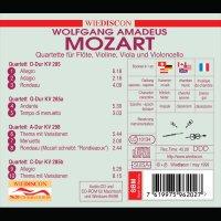 Mozart - Sämtliche Flötenquartette