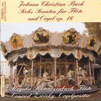 J.C. Bach – Sechs Sonaten für Flöte und Orgel op. 16