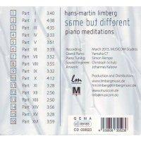 Hans-Martin Limberg - same but different