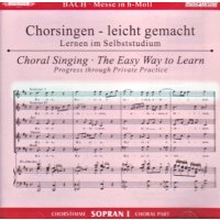 Bach, Johann Sebastian Messe h-Moll BWV 232 - Üb-CD...
